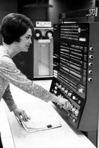 EARLY IBM Computer-ca. 1960s