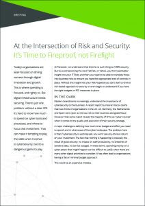 At the intersection of Risk and Security insight