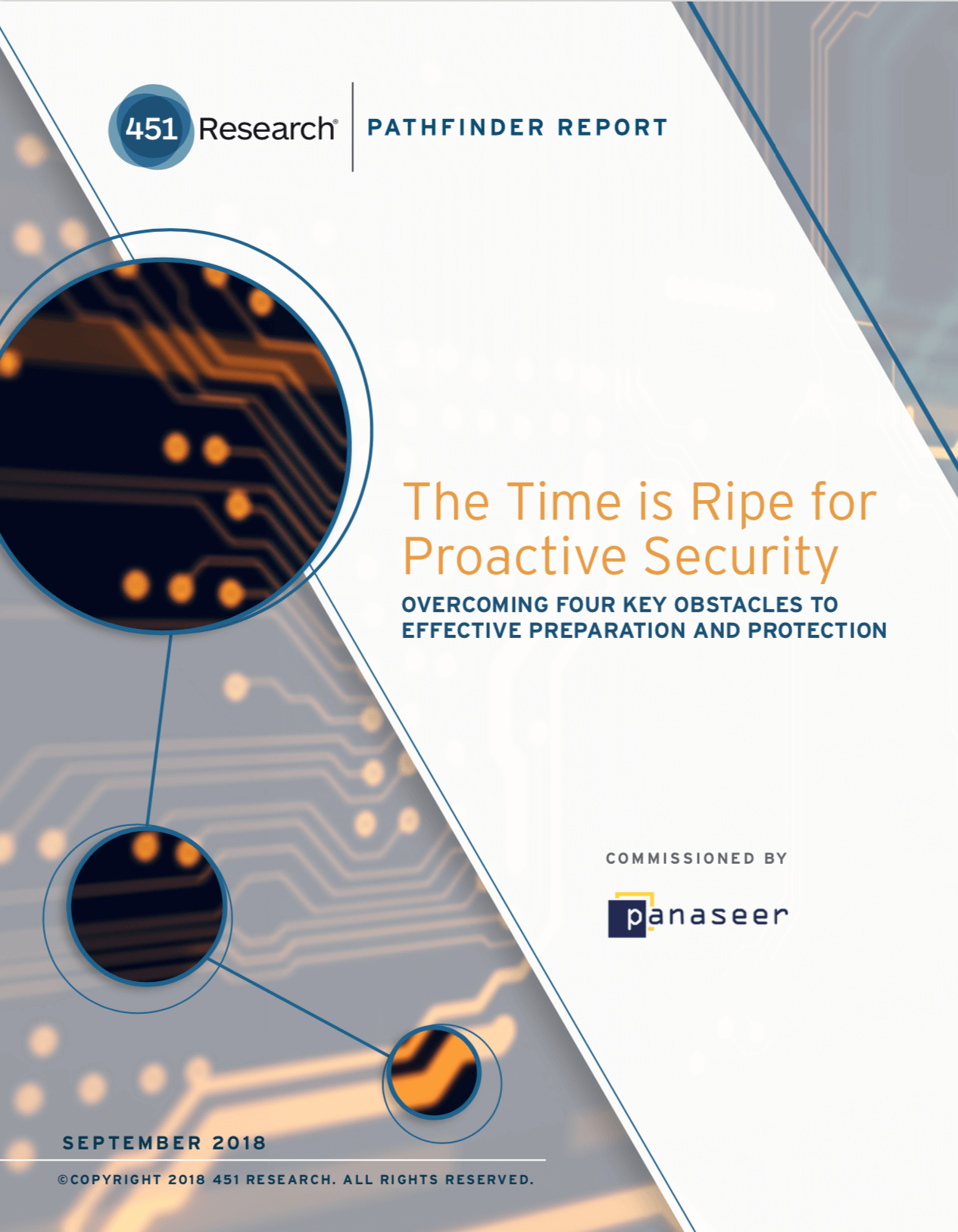 "Whitepaper: 451 Research Pathfinder Report ""The Time is Ripe for Proactive Security"""