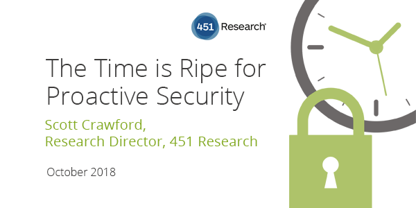 Webinar: The Time is Ripe for Proactive Security