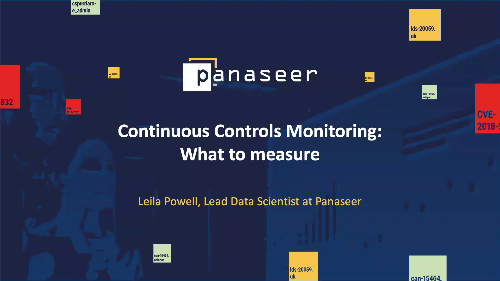 Webinar: Continuous Controls Monitoring – What to measure