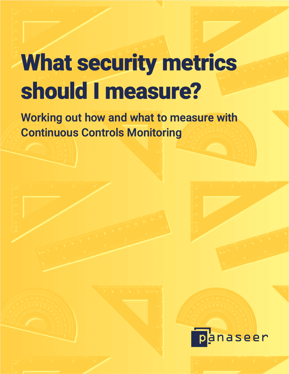 What security metrics should I measure?