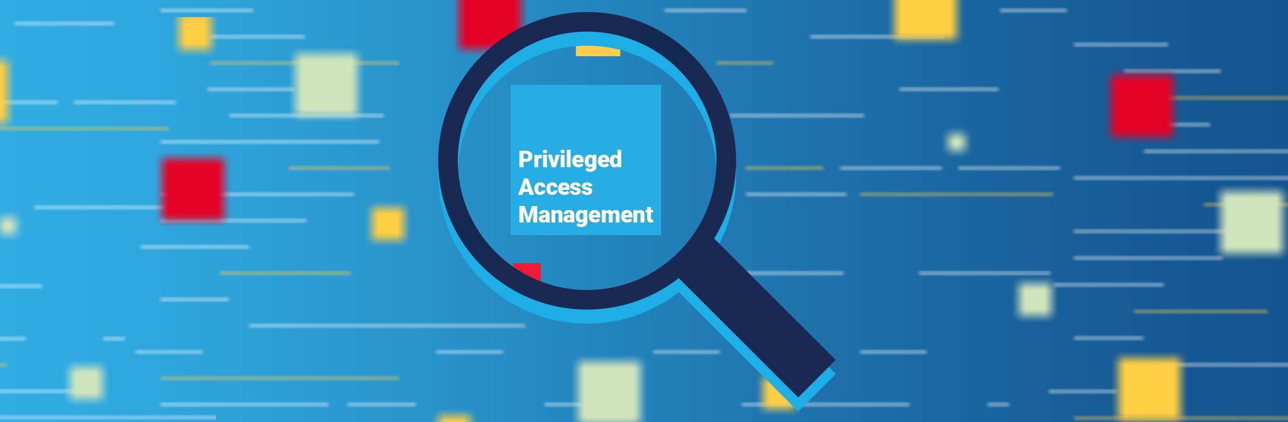 Privileged access management banner