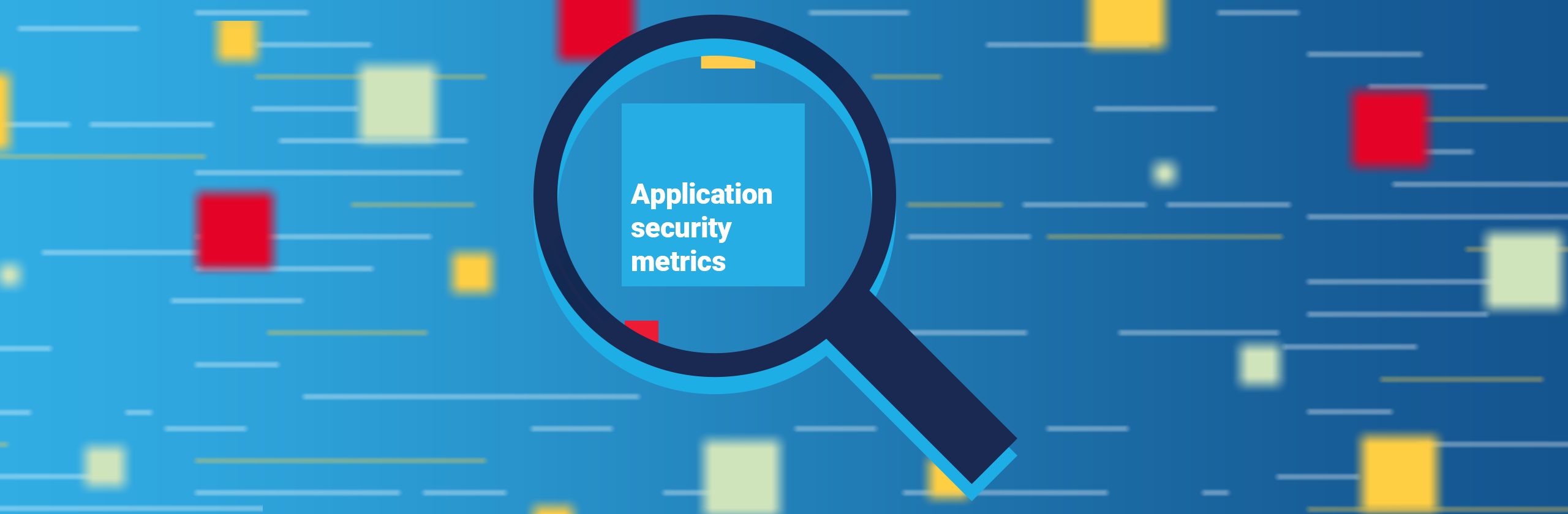 Application security metrics - banner